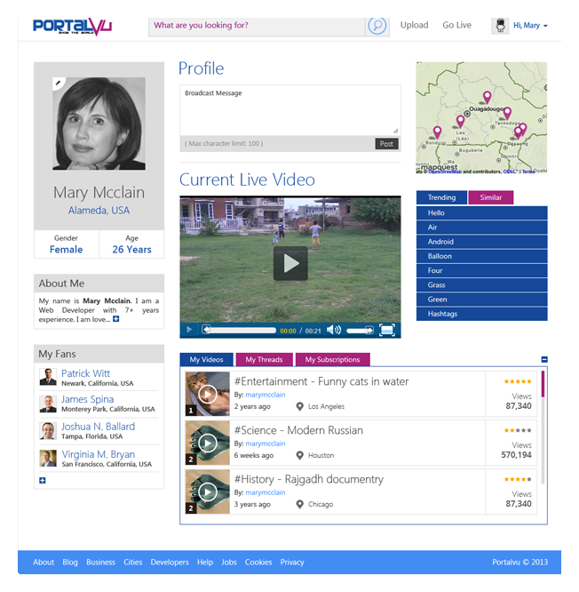 user-profile-page