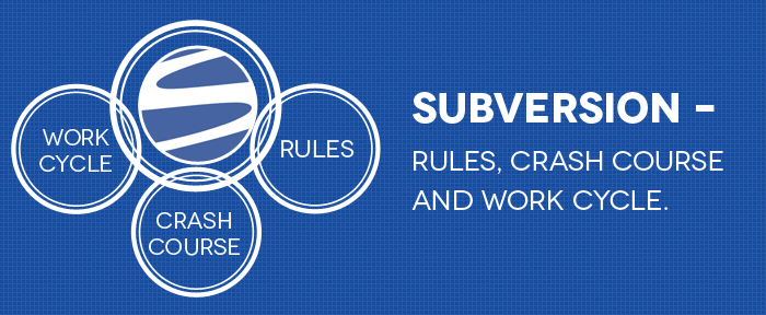 Subversion – Rules, Crash Course and Work Cycle