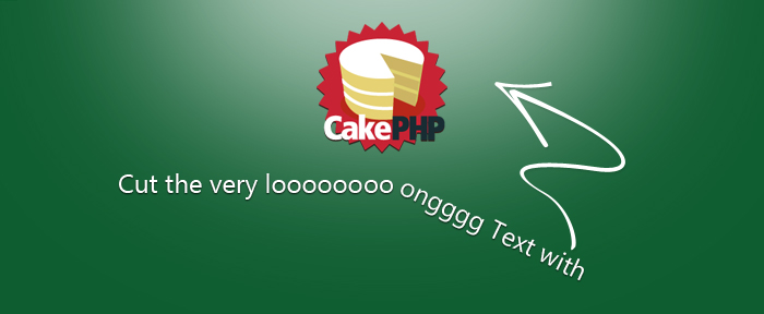 Cakephp helper to cut the long text without cutting the word