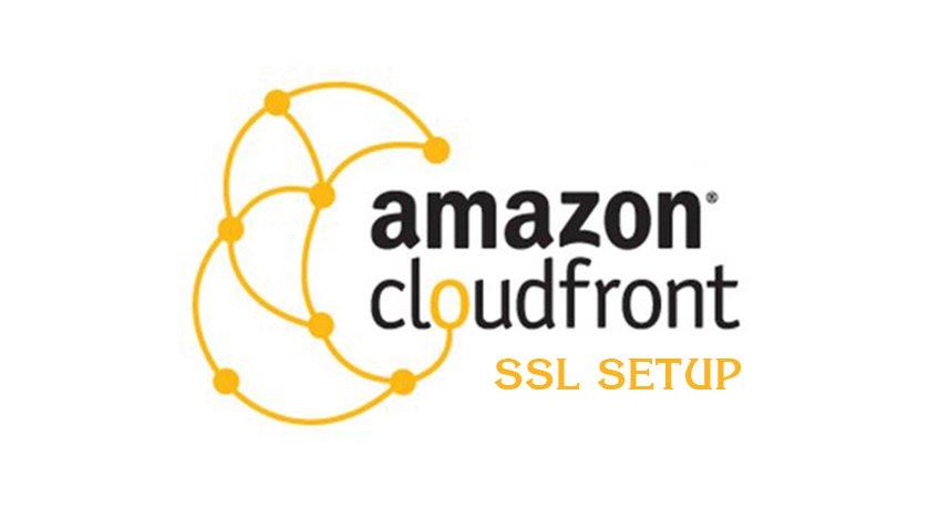 Cloudfront SSL SETUP