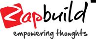 Zapbuild logo tagline