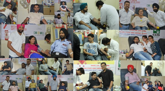 Silver blood donation camp – You don't have to be a doctor to save lives
